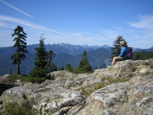 Seymour Mountain hike